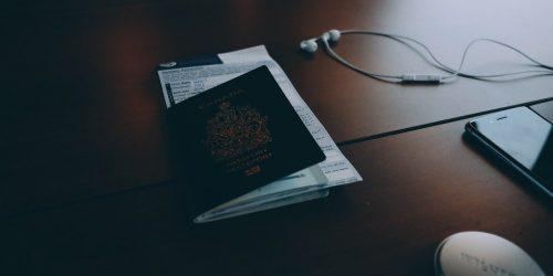 passport, travel, trip